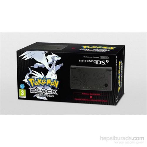 Nintendo DSI Pokemon Black Limited Edition Oyun Konsolu