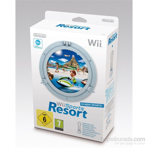 Nintendo Wii Sports Resort Oyun + Motıon Plus Aparatı