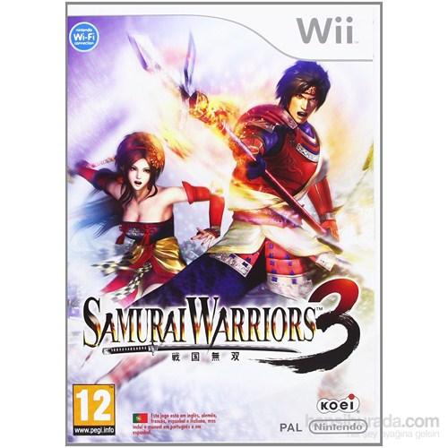 Nintendo Wii Samuraı Warrıors 3