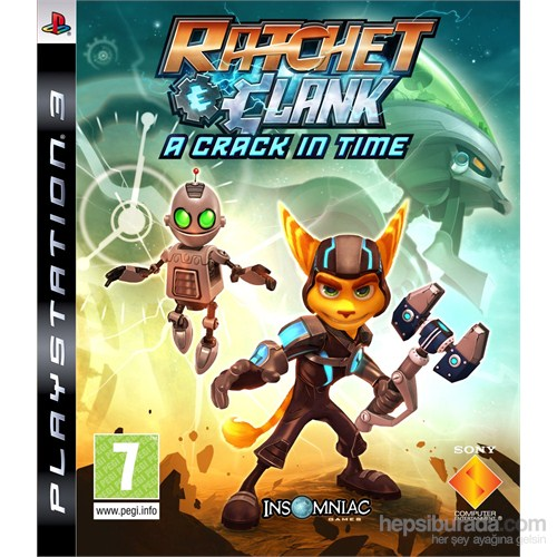 Sony Ps3 Ratchet Clank A Crack In Tıme