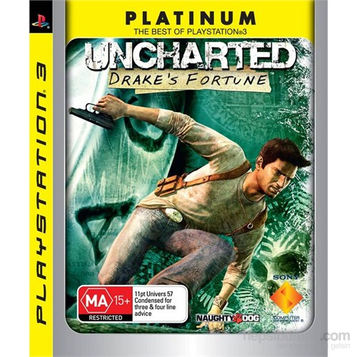 Sony Ps3 Uncharted 1 Drakes Fortune Platınum
