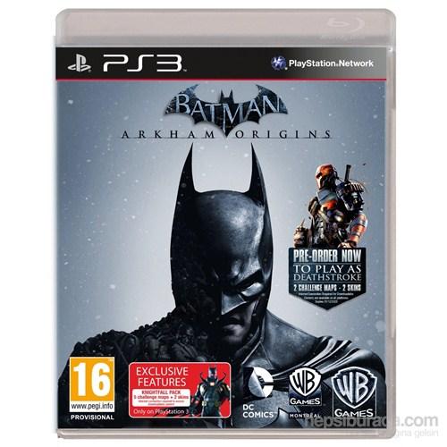 Warnerbros Ps3 Batman Arkham Orıgıns