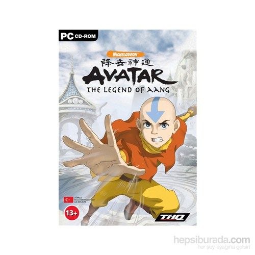 Thq Pc Avatar The Legend Of Aang