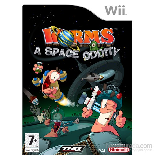 Thq Wii Worms A Space Oddıty