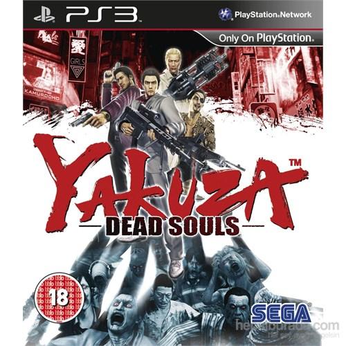 Sega Ps3 Yakuza Dead Souls