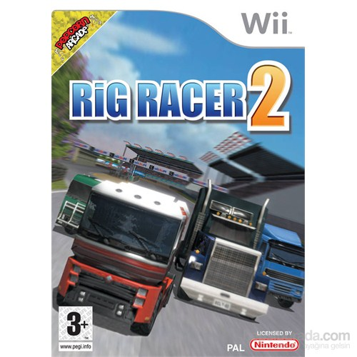 Nintendo Wii Rıg Rager 2