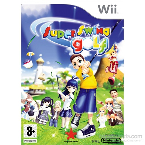 Rising Star Wii Super Swing Golf