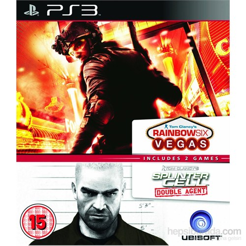 Ubisoft Ps3 Raınbow Sıx Vegas - Splınter Cell Double Agent