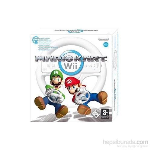 Nintendo Wii Mario Kart + Dıreksıyon
