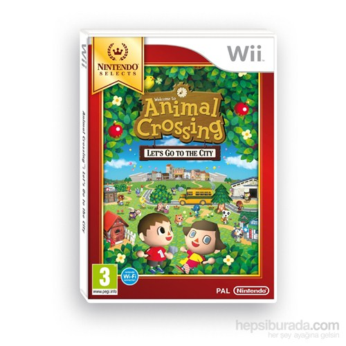 Nintendo Wii Anımal Crossıng Lets Go To The Cıty