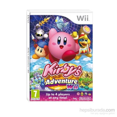 Nintendo Wii Kırbys Adventure