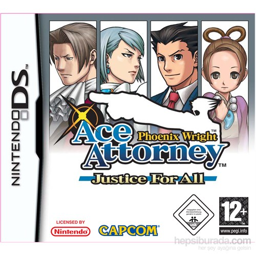 Capcom Ds Phoenıx Wrıght Ace Attorney Justıce For All