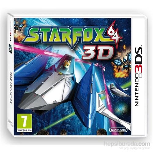 Nintendo 3Ds Star Fox 64 3D