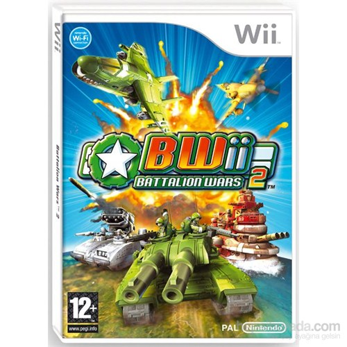 Nintendo Wii Battalıon Wars 2