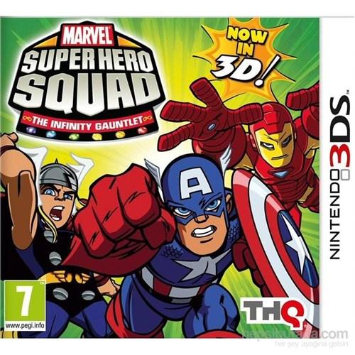 Thq 3Ds Marvel Super Hero Squad The Infınıty Gauntlet