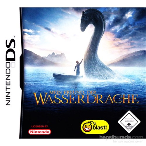 Blast Ds Water Horse Legend Of The Deep