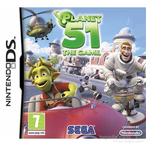 Sega Ds Planet 51 The Game