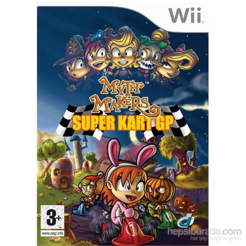 Nintendo Wii Myth Makers Super Kart Gp