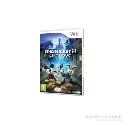 Disney Wii Epıc Mickey 2 Cıfte Guc