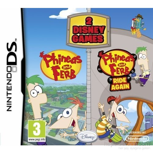 Disney Ds Phıneas And Ferb 2 Oyun