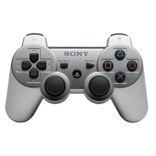 Sony Playstation 3 Titreşimli Joystick (Gümüş)