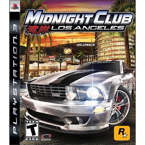 Rock Star Midnight Club Los Angeles Ps3 Oyun