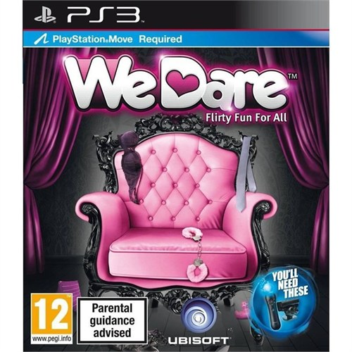 Ubisoft We Dare Flirty Fun For All Ps3 Oyun
