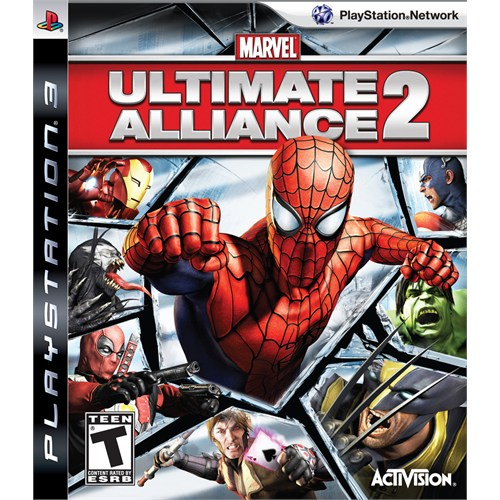 Activision Ultimate Alliance 2 Ps3 Oyun