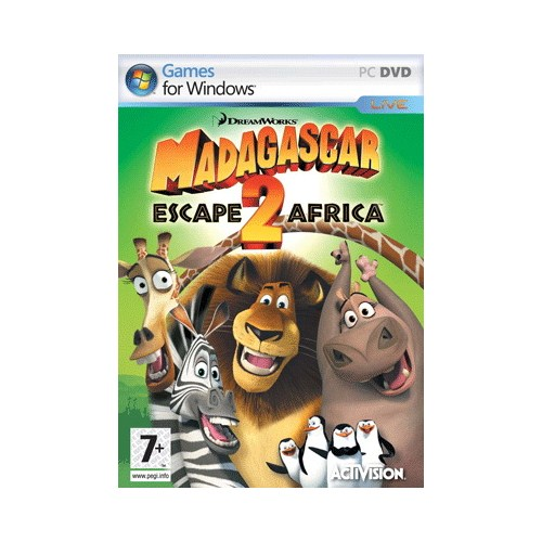 Madagascar 2 escape2 africa pc