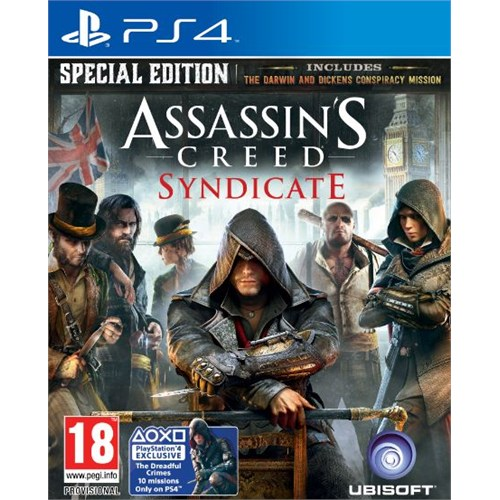 Assassins Creed Syndicate Special Edt Ps4