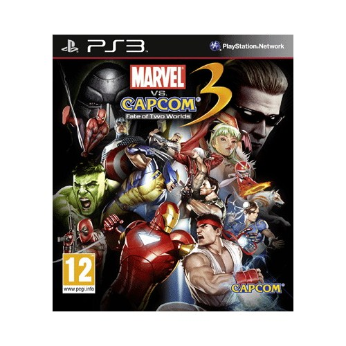 Marvel Vs Capcom 3 Psx3