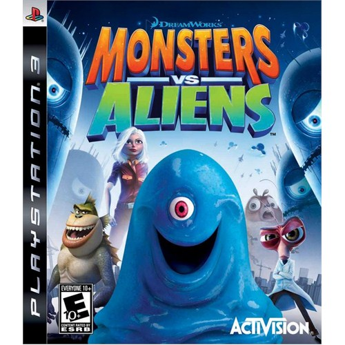 Monsters Vs Alıens Ps3