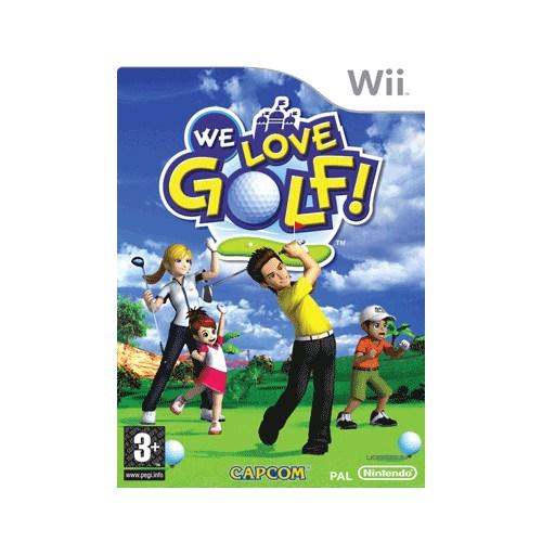 We Love Golf Wii