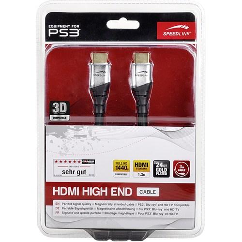 Speedlink Altın Uçlu PS3 3D HDMI Kablo