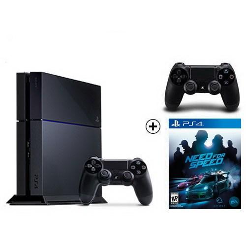 Sony Playstation 4 500Gb Konsol + Need For Speed Ghost + 2. Kol