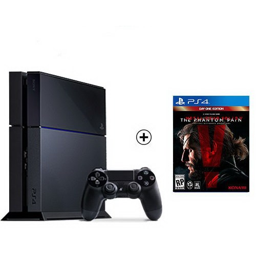 Sony Playstation 4 + Metal Gear Solid V The Phantom Pain