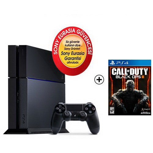 Sony Eurasia Playstation 4 500Gb Konsol + Call Of Duty: Black Ops 3