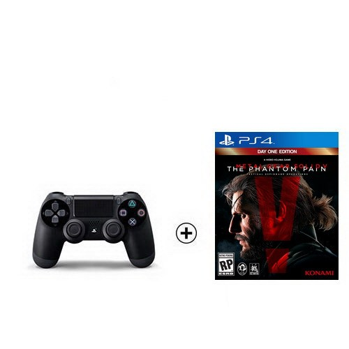 Sony Ps4 Dualshock 4 + Metal Gear Solid V The Phantom Pain Ps4 Oyun