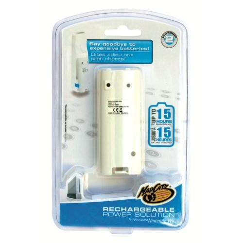 Wii Rechargeable Power Solution