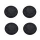 TX Sony Playstation 4 Siyah Slikon Analog Koruyucu 4'lü Paket (TXACP4102B)