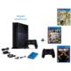Sony Playstation 4 500 Gb Oyun Konsolu + Fifa 2017 ( Türkçe ) + Gta 5 + Cod Black Ops 3 + 2. Kol