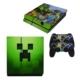 Minecraft Ps4 Sticker