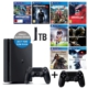 Sony Ps4 Slim 1TB CUH-2016B + 10 Adet Ps4 Oyunları + 2. V2 Ps4 Kol