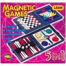 Dahice Manyetik 5 Farklı Oyun Kapasiteli Oyun Seti