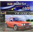 M.Set Vw Golf Gtı (Ölçek: 1:24)