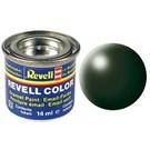 Revell Dark Green Silk 14 Ml Maket Boyası