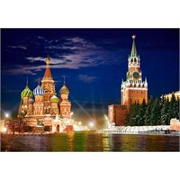 Castorland 1000 Parça Red Square By Night, Moscow
