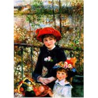 Ravensburger Puzzle 1500 Two Sisters On The Terrace