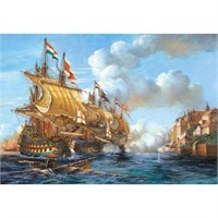 Castorland 2000 Parça Puzzle Battle Of Porto Bello