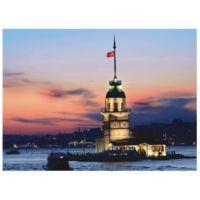 Anatolian 1000 Parça Puzzle Kız Kulesi